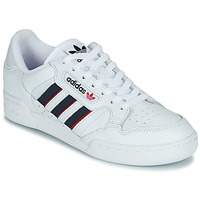 Sapatos Sapatilhas adidas Originals CONTINENTAL 80 STRI Branco / Azul / Vermelho