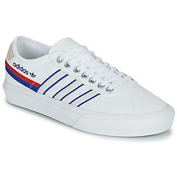 Sapatos Sapatilhas adidas Originals DELPALA Branco / Azul
