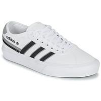Sapatos Sapatilhas adidas Originals DELPALA Branco / Preto