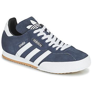 Sapatos Sapatilhas adidas Originals SUPER SUEDE Marinho / Azul