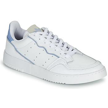 Sapatos Sapatilhas adidas Originals SUPERCOURT Branco / Azul