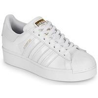 Sapatos Mulher Sapatilhas adidas Originals SUPERSTAR BOLD W Branco
