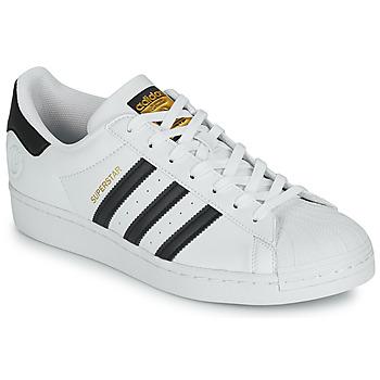 Sapatos Sapatilhas adidas Originals SUPERSTAR VEGAN Branco / Preto