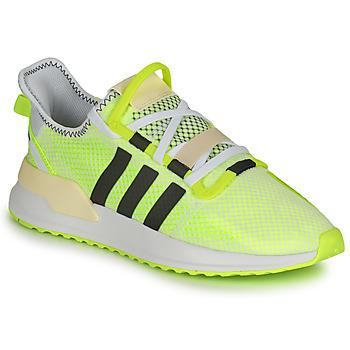 Sapatos Homem Sapatilhas adidas Originals U_PATH RUN Branco / Amarelo
