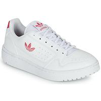 Sapatos Rapariga Sapatilhas adidas Originals NY 90 J Branco / Rosa