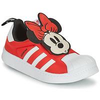 Sapatos Rapariga Sapatilhas adidas Originals SUPERSTAR 360 C Vermelho / Minnie