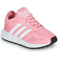 Sapatos Rapariga Sapatilhas adidas Originals SWIFT RUN X C Rosa