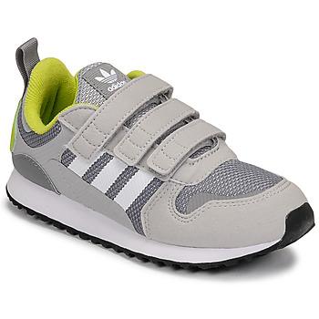 Sapatos Rapaz Sapatilhas adidas Originals ZX 700 HD CF C Cinza / Verde