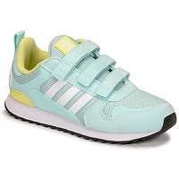 Sapatos Criança Sapatilhas adidas Originals ZX 700 HD CF C Azul / Amarelo