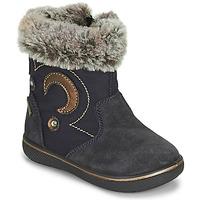 Sapatos Rapariga Botas de neve Primigi SNORKY GTX Marinho / Castanho