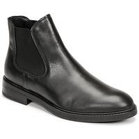 Sapatos Homem Botas baixas Selected CHELSEA Preto