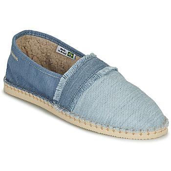 Sapatos Alpargatas Havaianas ESPADRILLE FUR Azul
