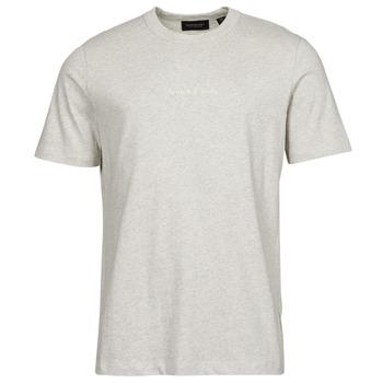 Textil Homem T-Shirt mangas curtas Scotch & Soda GRAPHIC LOGO Cinza