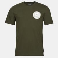 Textil Homem T-Shirt mangas curtas Scotch & Soda GRAPHIC LOGO T-SHIRT Cáqui