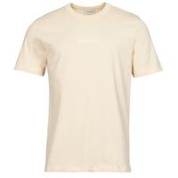 Textil Homem T-Shirt mangas curtas Scotch & Soda GRAPHIC LOGO Bege
