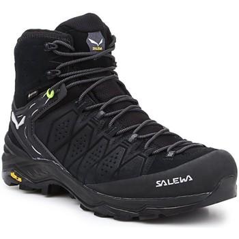 Sapatos Homem Sapatos de caminhada Salewa MS Alp Trainer 2 Mid GTX 61382-0971 black