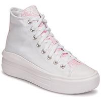 Sapatos Mulher Sapatilhas de cano-alto Converse CHUCK TAYLOR ALL STAR MOVE HYBRID FLORAL HI Branco