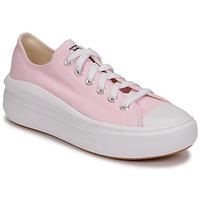 Sapatos Mulher Sapatilhas Converse CHUCK TAYLOR ALL STAR MOVE SEASONAL COLOR OX Rosa