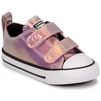 Sapatos Rapariga Sapatilhas Converse CHUCK TAYLOR ALL STAR 2V IRIDESCENT GLITTER OX Rosa