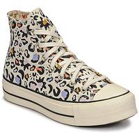 Sapatos Mulher Sapatilhas de cano-alto Converse CHUCK TAYLOR ALL STAR LIFT MYSTIC WORLD HI Branco / Multicolor