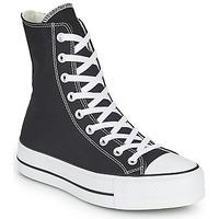 Sapatos Mulher Sapatilhas de cano-alto Converse CHUCK TAYLOR ALL STAR LIFT CORE CANVAS X-HI Preto
