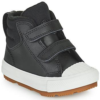 Sapatos Criança Sapatilhas de cano-alto Converse CHUCK TAYLOR ALL STAR BERKSHIRE BOOT SEASONAL LEATHER HI Preto