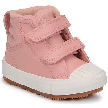 Sapatos Rapariga Sapatilhas de cano-alto Converse CHUCK TAYLOR ALL STAR BERKSHIRE BOOT SEASONAL LEATHER HI Rosa