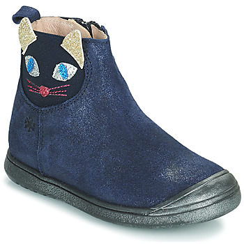 Sapatos Rapariga Botas baixas Acebo's 3159SU-MARINO Marinho