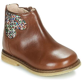 Sapatos Rapariga Botas baixas Acebo's 3202-CUERO-C Castanho