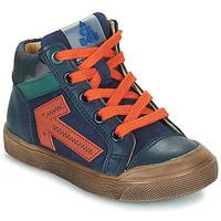 Sapatos Rapaz Sapatilhas de cano-alto Acebo's 5567-MARINO-J Marinho