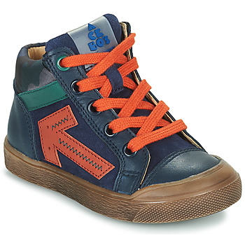 Sapatos Rapaz Sapatilhas de cano-alto Acebo's 5567-MARINO-I Marinho