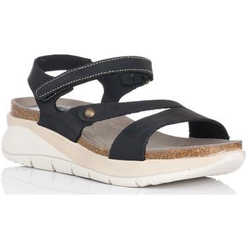 Sapatos Mulher Sandálias Interbios 6901 Preto