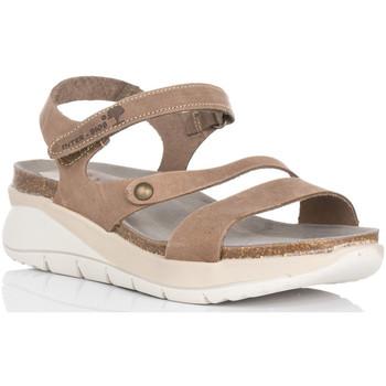 Sapatos Mulher Sandálias Interbios 6901 Bege