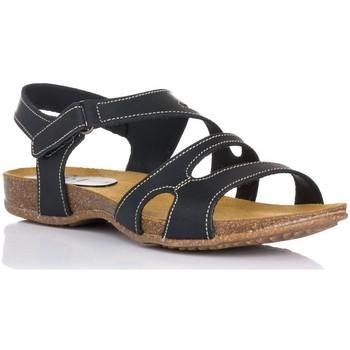 Sapatos Mulher Sandálias Interbios 4441 Preto