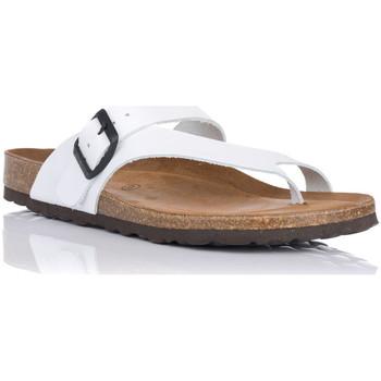 Sapatos Mulher Chinelos Interbios 7119 Branco