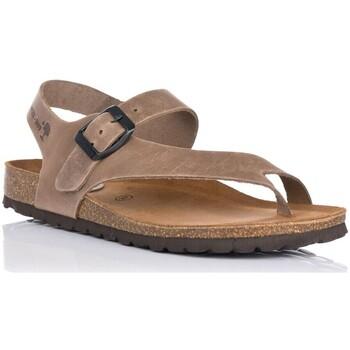 Sapatos Mulher Sandálias Interbios 7162 Bege