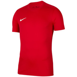 Textil Homem T-Shirt mangas curtas Nike Park VII Tee Rouge