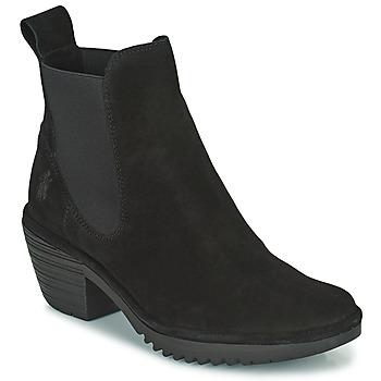 Sapatos Mulher Botins Fly London WASP Preto