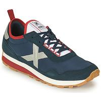 Sapatos Homem Sapatilhas Munich UM Azul / Cinza / Vermelho