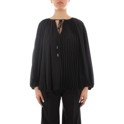 Textil Mulher camisas Marella BLOUSE Preto