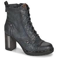 Sapatos Mulher Botins Mustang 1336502 Marinho