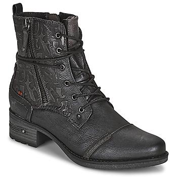 Sapatos Mulher Botas baixas Mustang 1229508 Preto