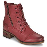 Sapatos Mulher Botas baixas Mustang 1229513 Vermelho