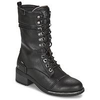 Sapatos Mulher Botas Mustang 1402501 Preto