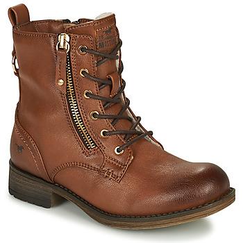 Sapatos Rapariga Botas baixas Mustang 5026-623-308 Castanho