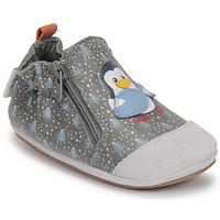 Sapatos Rapaz Pantufas bebé Robeez BLUE PINGUINS Cinza