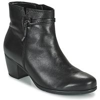 Sapatos Mulher Botins Gabor 7552227 Preto