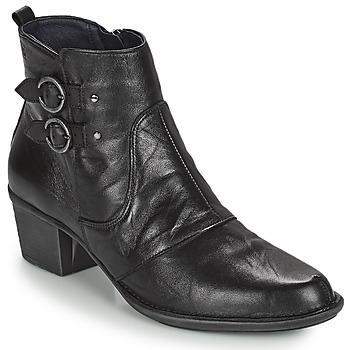 Sapatos Mulher Botins Dorking DALMA Preto