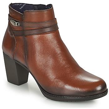 Sapatos Mulher Botins Dorking EVELYN Castanho