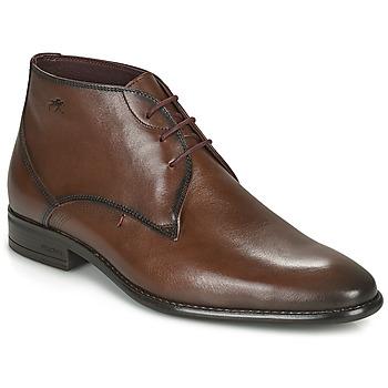 Sapatos Homem Botas baixas Fluchos ALEX Castanho